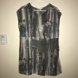 Cabi Sheer Top Blouse XL